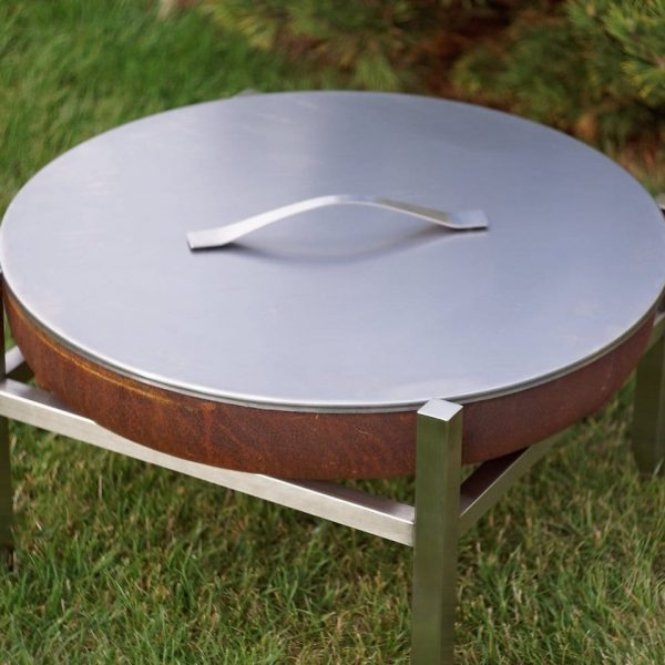 Stainless lid 63cm