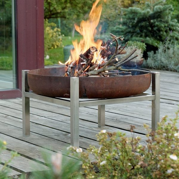 Crate Tall fire pit