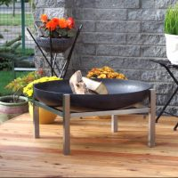 Large Crate fire pit 79cm