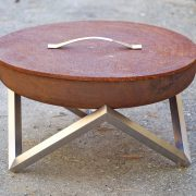 Fire pit rusting cover 63cm