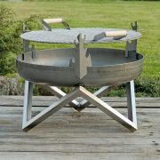 Grill on 63cm firepit