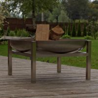 Stainless Steel Crate Fire Pit