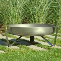 Stainless steel fire pit Etna