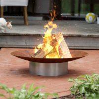 Hestia Stainless Steel Firepit
